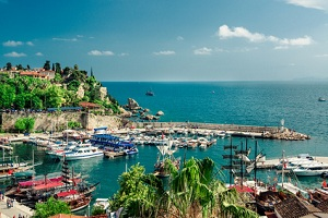 Antalya turkey seaside