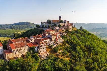 Croatia the castle