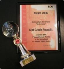 Ocenění 2006