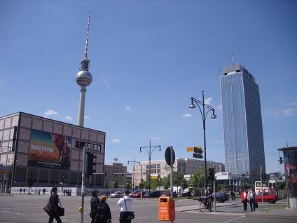Berlín náměstí Potsdamer