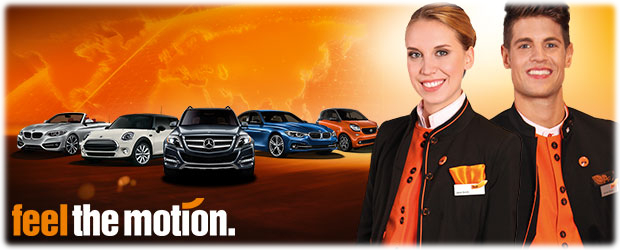Sixt banner Feel the motion