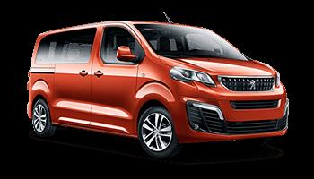 Osobní vícemístné dodávky Peugeot