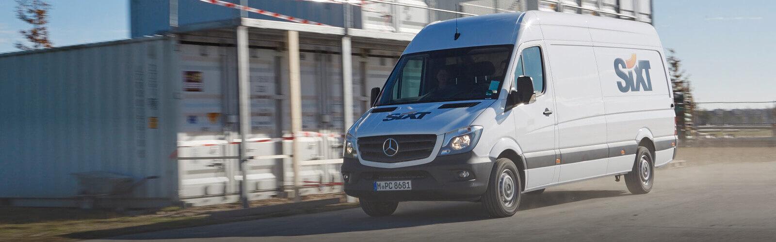 Mercedes dodávka Sixt