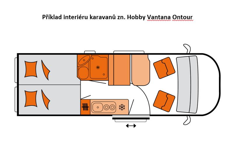 Hobby Vantana Ontour_interiér