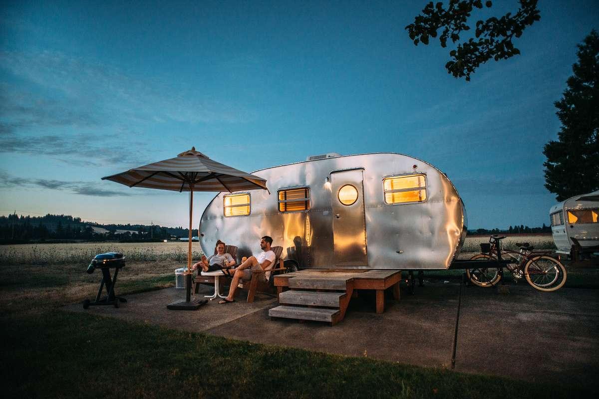 Retro karavan