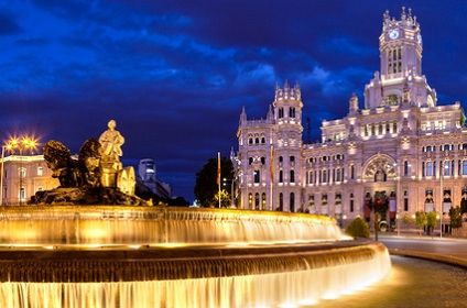 Madrid the capital Spain