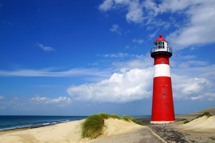 Netherlands lighthouse