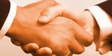 Business podání rukou