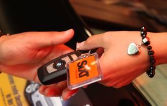 Sixt pronájem auta předání klíčů