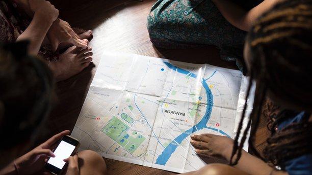 Plánování trasy smapou