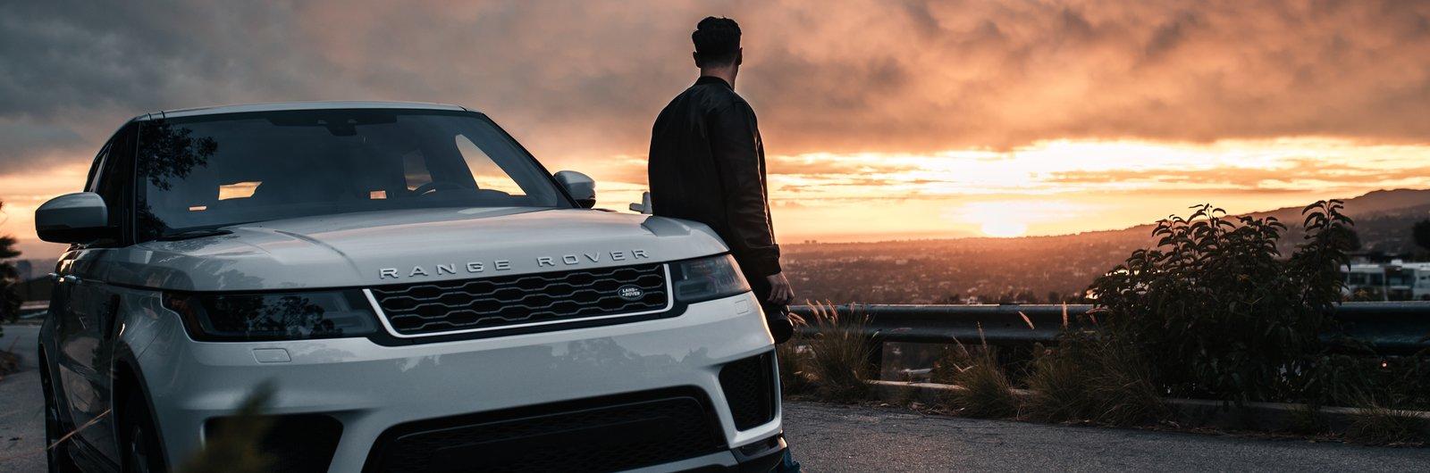 Sixt Range Rover Sport bílý
