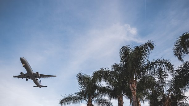 Sixt letadlo dovolená