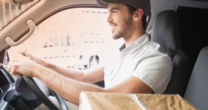 Sixt řidič dodávky