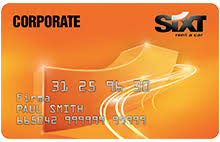 Sixt Corporate card