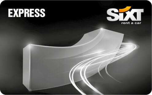 Sixt Express karta