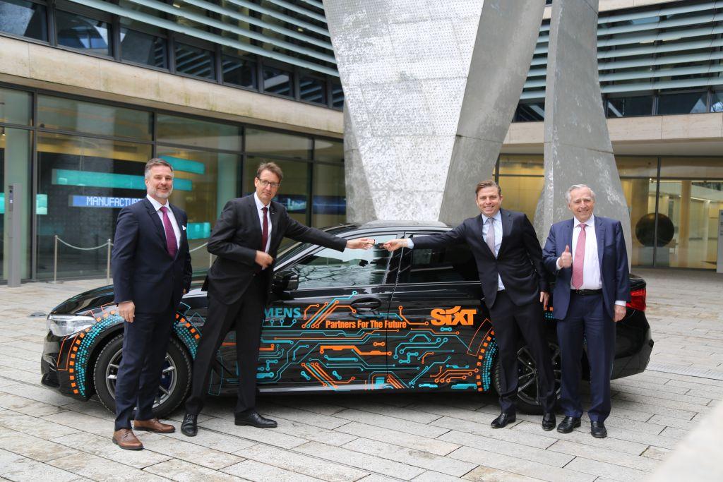 Sixt a Siemens partneři