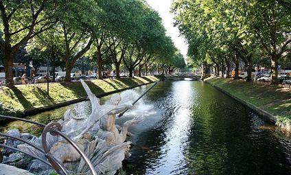 Dusseldorf městský park