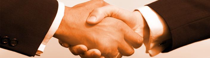 Sixt podání rukou business