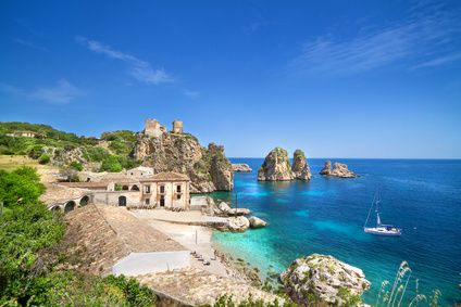 Italy the seaside