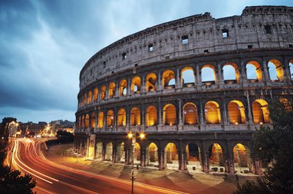 Italy Rome the Collosseum