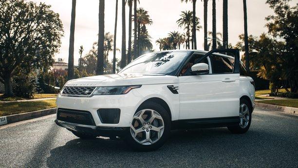 Sixt Range Rover bílý
