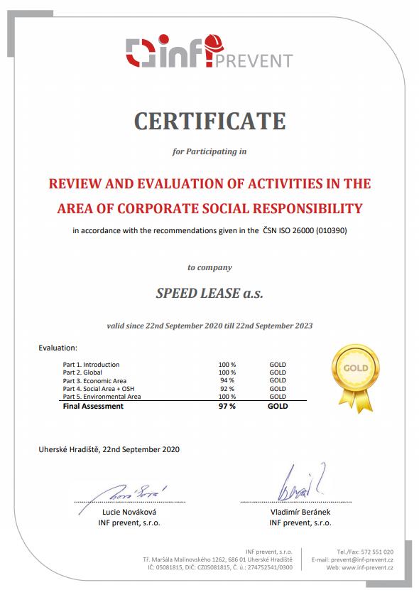 Certificate review AJ