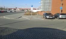 Autopůjčovna Sixt v Ostravě - parkoviště
