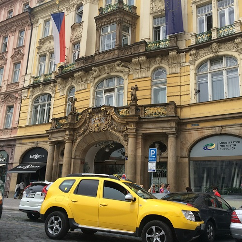 Prague Old Town Square Sixt branch