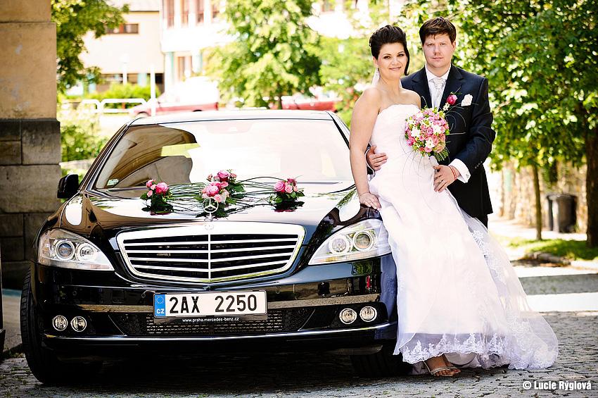 Sixt luxusní auto na svatbu