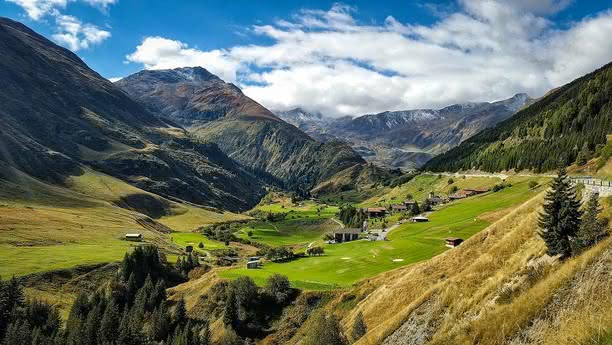 Švýcarsko hory