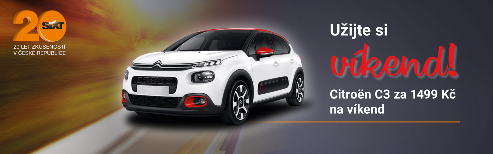 Citroën víkend