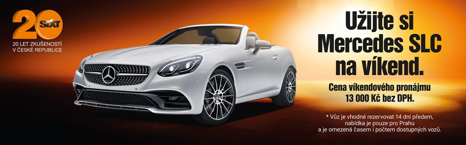 Mercedes pronájem