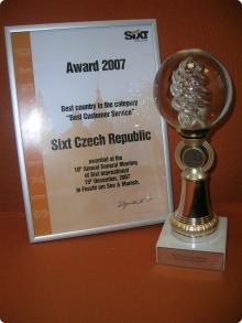 Ocenění 2007