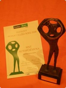 Ocenění 2008