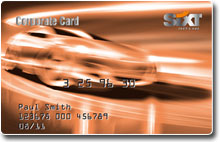 The Sixt Corporate Card