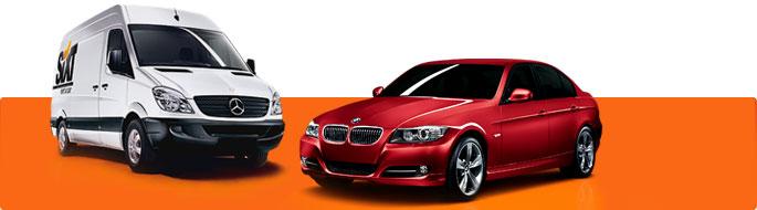 Osobní vozy i dodávky od Sixt