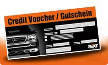 Sixt Credit Voucher